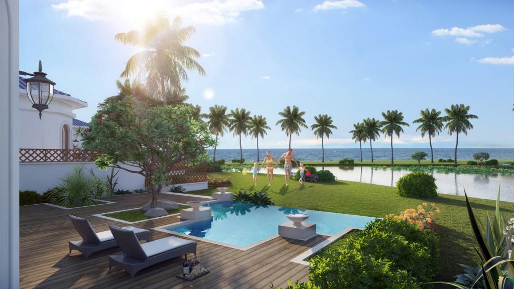 Du khách yêu thích biệt thự biển nghỉ dưỡng là ai?