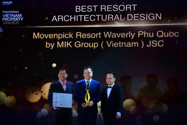 MIK Group liên tiếp giành những giải thưởng danh giá thế giới