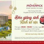 Sự kiện mở bán sở hữu căn hộ khách sạn Movenpick Phú Quốc T12/2019