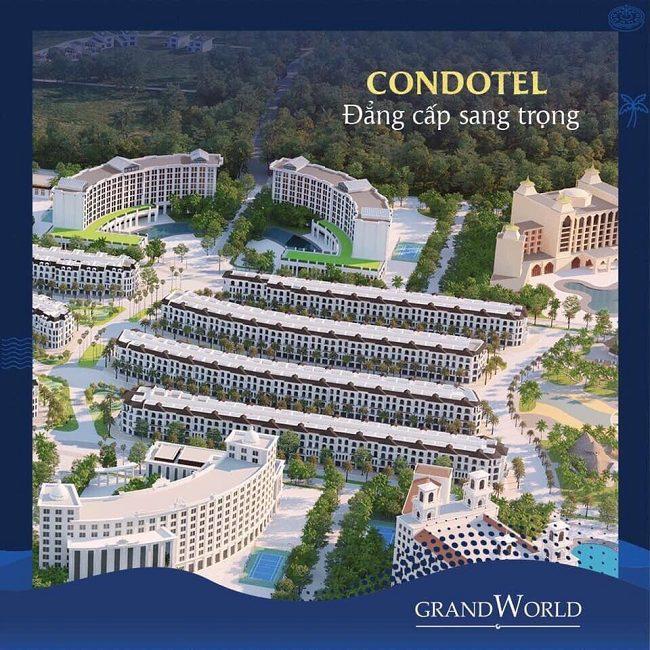 các dự án của Vingroup tại Phú Quốc - condotel Grand World