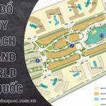 Sơ đồ quy hoạch Grand World Phú Quốc(mới cập nhật T8/2021)
