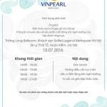 Sự kiện chia sẻ chuyên sâu về BĐS nghỉ dưỡng của Vingroup