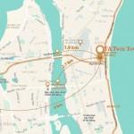 Tiềm năng phát triển vị trí dự án Condotel T&T Twin Towers Đà Nẵng
